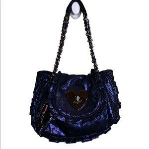 Betsey Johnson Metallic purse Betseyville NWOT